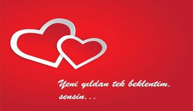 Sevgiliye Yılbaşı Özel Mesajları