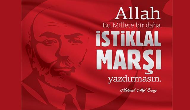 12 Mart İstiklal Marşının Kabulü Mesajları