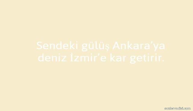 Ankara İle İlgili Güzel Sözler