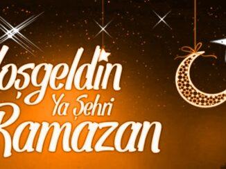 Hoşgeldin Ey Şehr-i Ramazan Sözleri