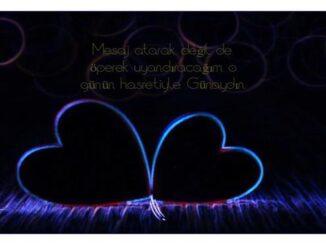 Sevgiliye Romantik Günaydın Mesajları